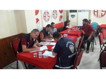 Antalya'da Tombala Operasyonu: 18 Gözaltı