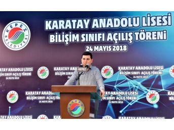 Karatay Anadolu Lisesine Bilişim Sınıfı
