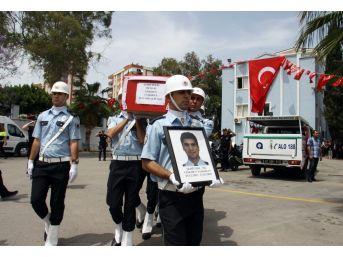 Şehit Polis Memuru İçin Antalya Emniyet Müdürlüğünde Tören