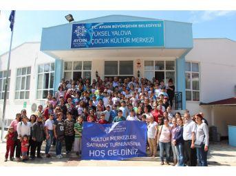 Büyükşehir Belediyesi Kursiyerleri Satranç Tahtasında Yarıştı