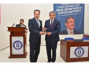 Nazilli Belediyesi'nden Adü'ye 2 Milyonluk Yatırım