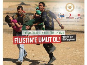 Filistin İçin 'insani Yardım Kampanyası' Başlatıldı
