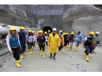 Bolu'nun 3 Bin 674 Metrelik İçme Suyu Projesinde Son 384 Metre