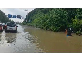 Bursa-istanbul Karayolunu Sel Bastı