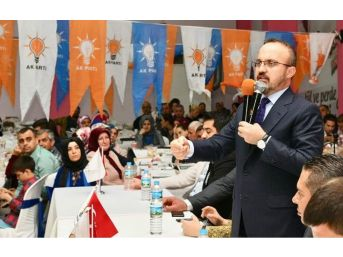 Ak Partili Turan, Biga İlçe Teşkilatının İftar Programına Katıldı