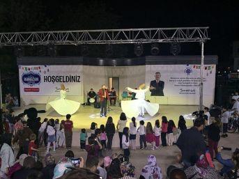 Biga Belediyesi Şehir Parkı'na Ramazan İlgisi