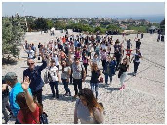 Bulgaristan'da Yaşayan Çocuklar Tarihi Yerinde Görüp Öğrendiler
