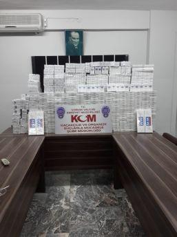 Çorum Polisinden Kaçak Sigara Operasyonu
