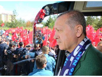 Cumhurbaşkanı Erdoğan Ve Başbakan Yıldırım Erzurum'da