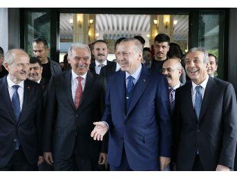 Cumhurbaşkanı Erdoğan'dan İbb'ye Ziyaret