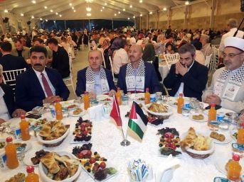 Filistinliler Sultangazi'deki İftarda Buluştu