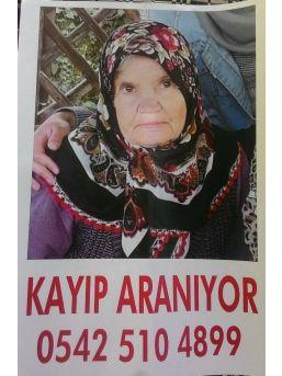Alzaimer Hastası Yaşlı Kadın 2 Gündür Kayıp