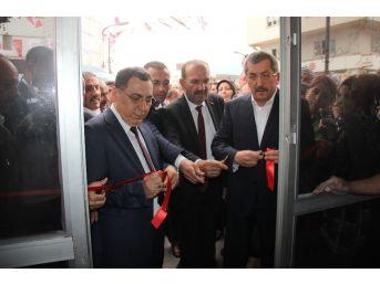 Mhp İlk Seçim Bürosunun Açılışını Gerçekleştirdi