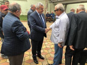 Başkan Baran, Çamlıtepe Mahallesi'nde Vatandaşlar İle Bir Araya Geldi