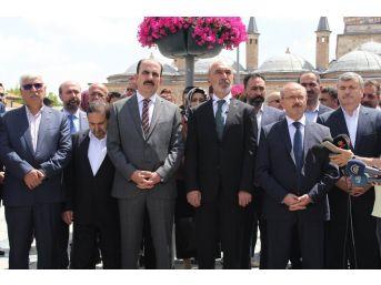 Ak Parti Konya'da Seçim Çalışmalarına Mevlana Meydanı'ndaki Programla Başladı