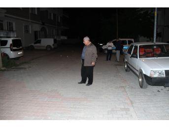 Konya'da Sahurda Açılan Ateş Sonucu İki Araç Zarar Gördü