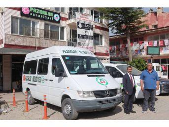 İstanbul Büyükşehir Belediyesi'nden Pazarla'a Hibe Minibüs