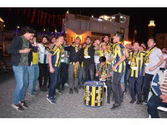 Mardin'de Gençlerin Fenerbahçe Coşkusu