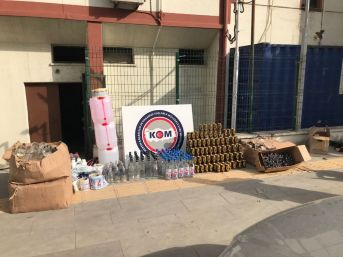 Mersin'de Sahte İçki Operasyonu