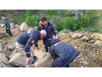 Afad Ekipleri, Mahsur Kalan Vatandaşların Yardımına Yetişti