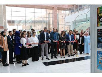 Hacıbektaş Myo'da 5.geleneksel Grafik Tasarım Sergisi Açıldı