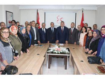 Mhp Nevşehir İl Başkanlığını Milletvekillerini Tanıttı
