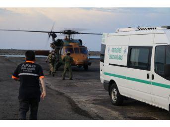 Ölen Dağcı Helikopterle Alındı