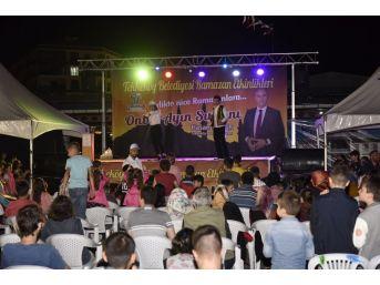 Tekkeköy Ramazan Sokağı Cıvıl Cıvıl