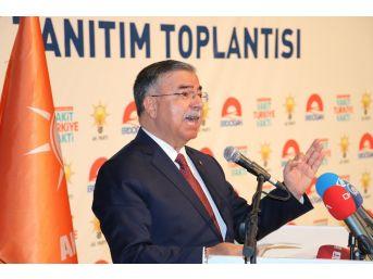 """Bakan Yılmaz: """"tepeden Bakmak Bu Partilerin Dna'larında Var"""""""