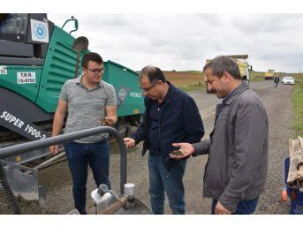 Tekirdağ Büyükşehir Belediyesinin Silindirle Sıkıştırılan Beton Yol Çalışmaları Tanıtıldı