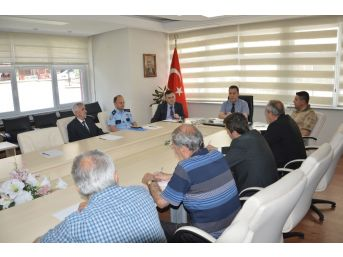 Niksar'da Seçim Güvenliği Toplantısı Yapıldı