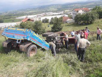 Çaycuma'da Traktör Kazası: 1 Ölü, 2 Yaralı
