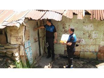 Bitlis Polisinden Ramazan Yardımı
