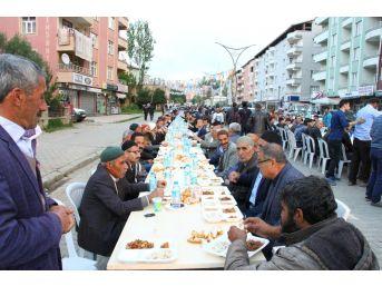 Hizan Belediyesi İftar Programı Düzenledi