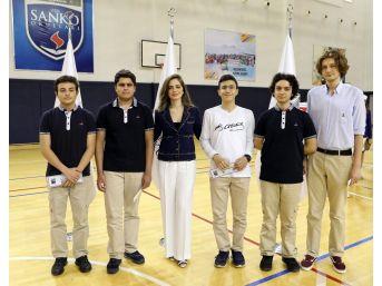 Sanko Okulları Başarıyı Ödüllendirdi
