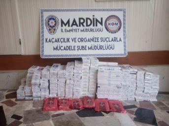Mardin'de Kaçakçılık Operasyonu: 8 Gözaltı