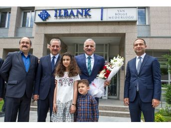 Vali Zorluoğlu, İlbank Van Bölge Müdürlüğünü Ziyaret Etti