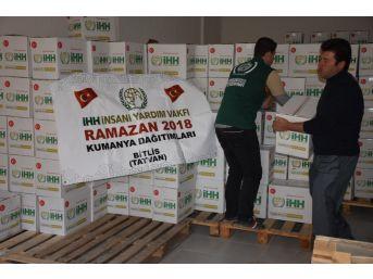 Bitlis'te Bin 500 Aileye Ramazan Kumanyası