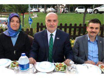 Ak Parti Bursa Milletvekili Adayı Ahmet Yelis, Bbp Üyeleriyle İftarda Buluştu