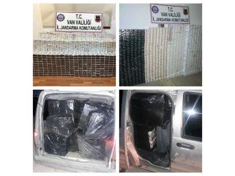 Jandarmadan Kaçak Sigara Operasyonları