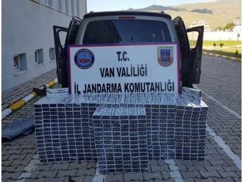 Muradiye 7 Bin 500 Kaçak Sigara Ele Geçirildi