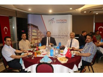 Antalya Teknokent İftar'da Buluştu