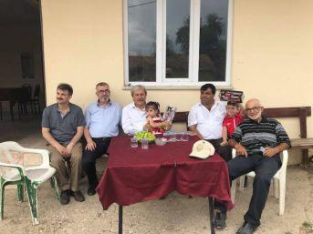 Belediye Başkanı Şahin Bayramı Köylerde Geçirdi