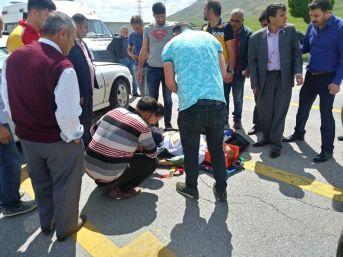 Bitlis'te Trafik Kazası; 1 Yaralı