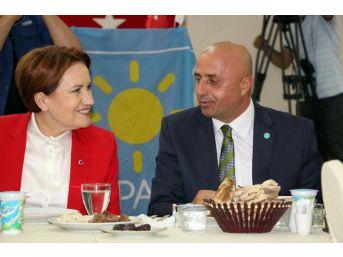 İyi Parti Genel Başkanı Akşener Bitlis'te