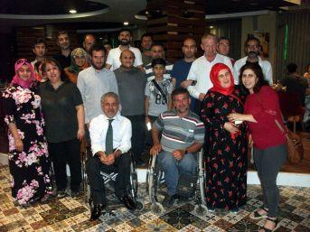 Görme Engelliler İftarda Buluştu