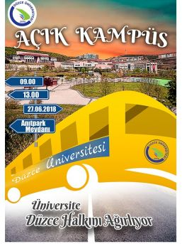 Düzce Üniversitesi Kapılarını Halka Açtı