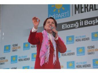 """İyi Parti Genel Başkanı Akşener: """"trt'yi Kapatacağım, Dedim. Trt'yi Kapatıyorum"""""""