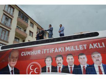 """Mhp Genel Başkan Yardımcısı Prof.dr. Aydın: """"cumhur İttifakının İktidarında Da Terörle Mücadele Bugün Olduğu Gibi Kararlı Bir Şekilde Devam Edecek"""""""