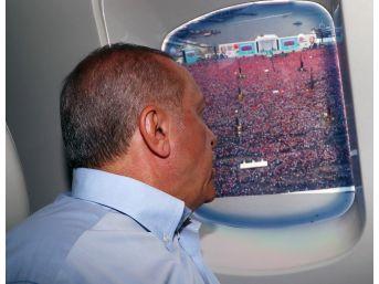 Cumhurbaşkanı Erdoğan, Miting Alanında